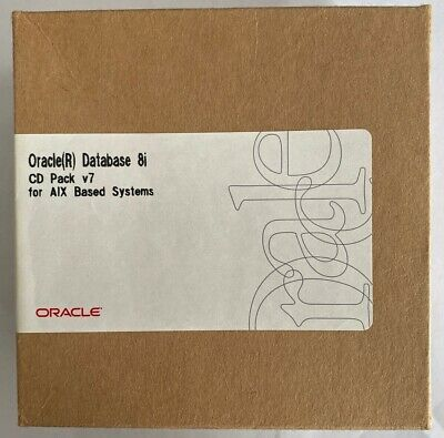 Oracle Database 8i (8.1.5) CD Pack V7 For AIX Based Systems • 35£