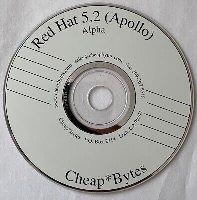 Red Hat 5.2 (Apollo) For Alpha - Software CD • 5£