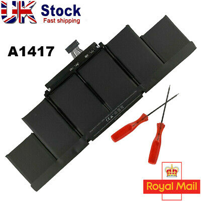 A1417 Battery For Apple MacBook Pro 15  Retina A1398 Mid 2012 Early 2013 95Wh UK • 46.80£