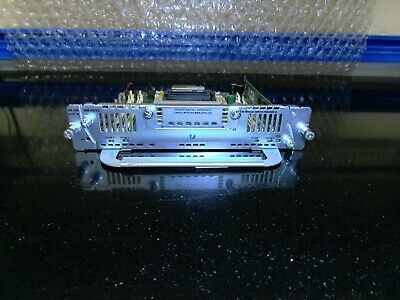 Cisco SM-NM-ADPTR Network Mod. Adapter For 2900 & 3900 Routers + NM-HDV2 Module • 50£