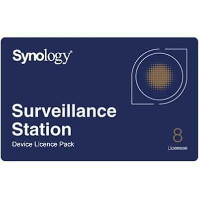 Synology Surveillance Device License Pack - 8 Cameras • 299.82£