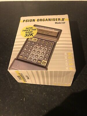 Vintage Psion Organiser II Model XP  Boxed With Manual  - Never Used. • 19.99£