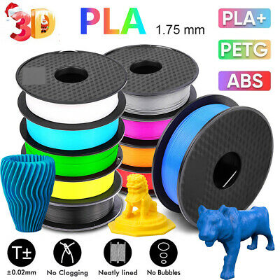 3D Printer Filament Printing 1.75mm 1KG Various Colours Available PLA PLA+ PETG  • 16.99£