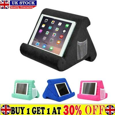 Wedge Foam Lap Stand Book Rest Read Cushion Tablet • 12.29£