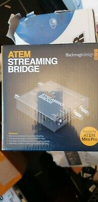 Atem Streaming Bridge Dealer New Ovp New Now Available • 101£
