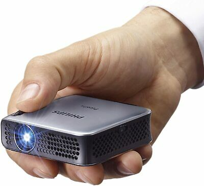 Philips Picopix Pocket Projector PPX4010 With 100 Lumens 120  Screen Projection • 129£