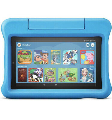 Fire 7 Kids Edition Tablet | 7  Display, 16 GB, Blue Kid-Proof Case • 79.99£