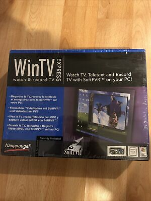 WinTV Express Hauppauge Sealed • 35£