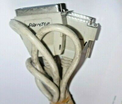 Db25 Pin Printer Lead M/f Male To Female • 0.99£