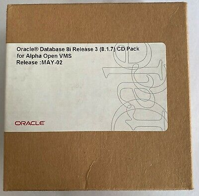 Oracle Database 8i Release 3 (8.1.7) CD Pack V6 For Alpha Open VMS May-02 • 35£