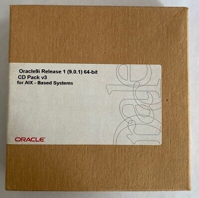 Oracle 9i Release 1 (9.0.1) 64-bit CD Pack V3 For AIX-Based Systems • 35£