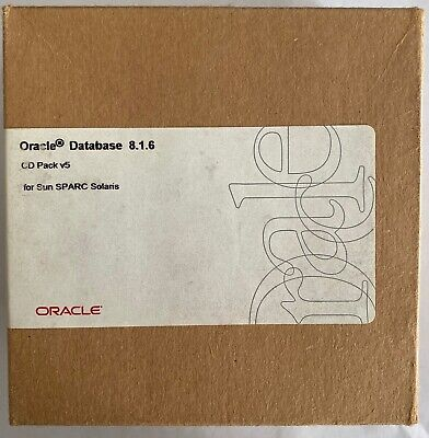 Oracle Database 8.1.6 CD Pack V5 For Sun SPARC Solaris • 30£