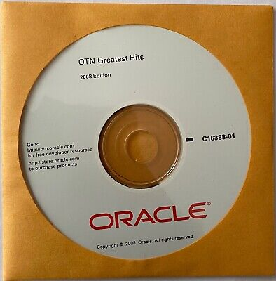 Oracle - OTN Greatest Hits - 2008 Edition • 9£
