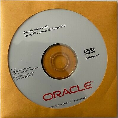Oracle - Developing With Oracle Fusion Middleware - DVD - C16400-01 • 9£
