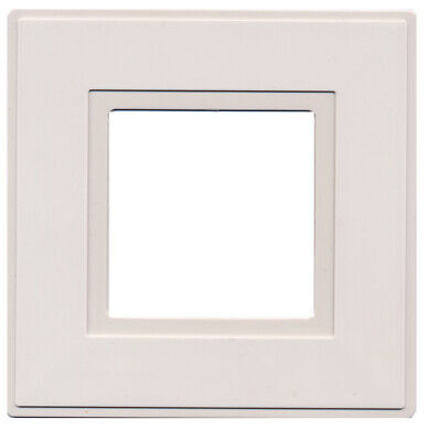 Light Switch Surround Finger Plate White [2 Pack] • 3.14£