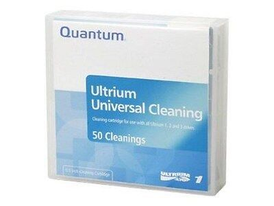 Quantum LTO Ultrium (15 To 50 Cleanings) Universal Cleaning Cartridge (Black) • 37.61£