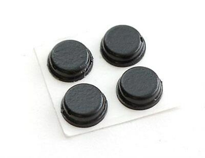 StarTech.com Self-Adhesive Rubber Feet For PC Cases (4 Pack) • 2.29£