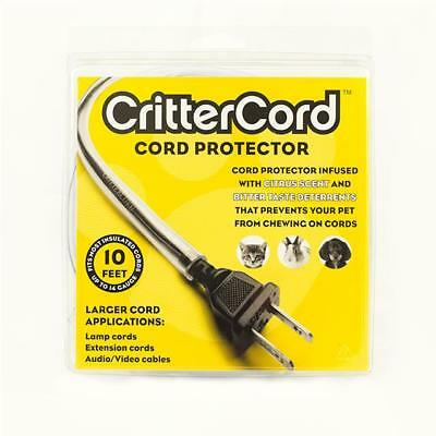 Crittercord Citrus Cord Cable Protector 10 Feet Rabbits Cats Dogs Pets 14 Guage • 11.99£