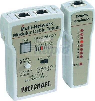 Voltcraft CT-2 Cable Tester • 32.60£