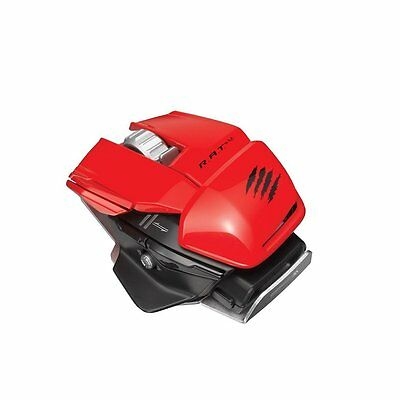 Mad Catz R.A.T.M Wireless Gaming Mouse Red • 14.55£