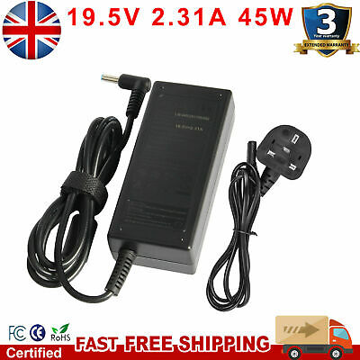 AC Power Adapter Charger For HP Stream 11 13 14 15 Notebook PC Series 19.5V 65W  • 9.49£