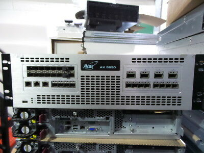 A10 Networks  AX 5630 ADC  Application Delivery Controller  8 Core E5 Cpu 128G • 1,999£