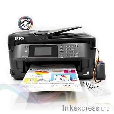 None OEM A3 Dye Sub Sublimation Printer Epson WF-7710 + CISS + Ink + A3 Papers  • 299£