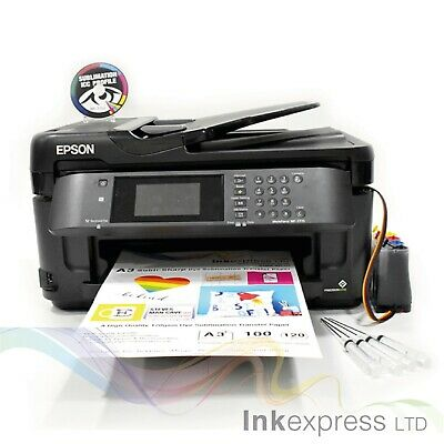 None OEM A3 Dye Sub Sublimation Printer Epson WF-7715 + CISS + Ink + A3 Papers  • 309£