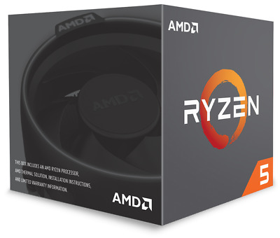 AMD Ryzen 5 2600X 3.6GHz Hexa Core AM4 CPU  • 148.91£