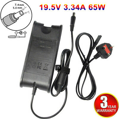For Dell Inspiron 1545 1520 1501 PA12 Laptop Power Adapter Lead AC Charger • 9.99£