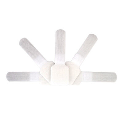 Fisual Adhesive Cable Ties White 10 Pack • 3.99£