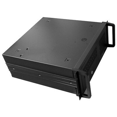 4U Rackmount Server Case - Black  • 60.69£