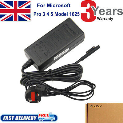 For Microsoft Surface Pro 3/4 Adapter Charger Power Supply 1625 MS19 + UK PLUG • 10.95£