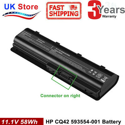 Laptop Battery For HP Pavilion DV6, G42, G56, G62, G72, G6 Series MU06 MU09 • 14.99£