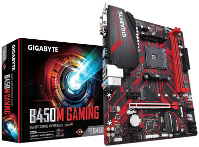 Gigabyte B450M GAMING MATX Motherboard For AMD AM4 CPUs • 86.26£