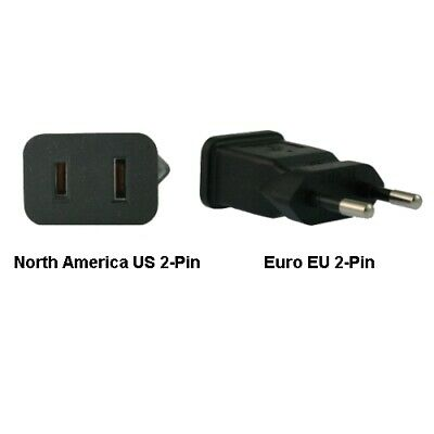InLine North America US To Euro EU Power Adapter Plug • 22.25£