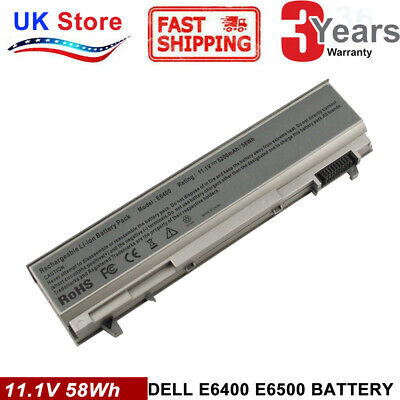 Laptop Battery For DELL Latitude E6400 E6410 E6500 E6510 PT434 PT435 KY265 FAST • 12.99£