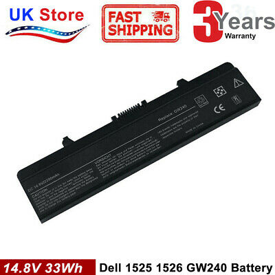 14.8V Battery For Dell Inspiron 1525 1545 1546 1750 1526 1440 Vostro 500 K450N • 12.99£