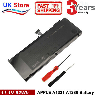 A1321 Battery For MacBook Pro Unibody Aluminum 15  A1286 (Mid 2009 2010) Only • 21.99£