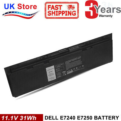 Battery For Dell Latitude E7240 E7250 WD52H W57CV 0W57CV GVD76 VFV59 3G33 • 25.99£