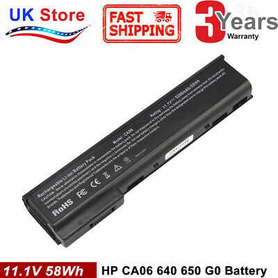 Battery For HP ProBook 640 645 650 655 G0 G1 CA06 CA06XL HSTNN-DB4Y 718755-001 • 13.99£