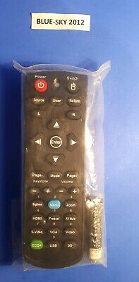 NEW Remote Control For ViewSonic Projector With Laser  • 14£
