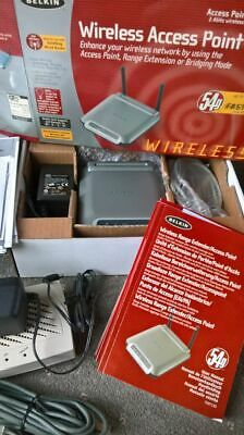 Mixed New/used Wifi Items, Router, Access Point, Modem, Leads Etc • 10£