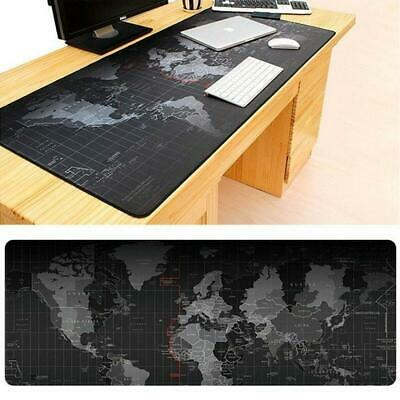 90CM X 40CM EXTRA LARGE XL GAMING MOUSE PAD MAT FOR PC LAPTOP MACBOOK ANTI-SLIP • 6.95£