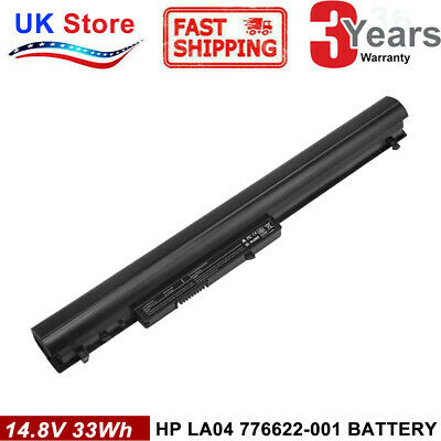 Laptop LA04 Battery For HP Pavilion 14 15 Notebook PC 728460-001 15-N267sa 8Cell • 14.99£
