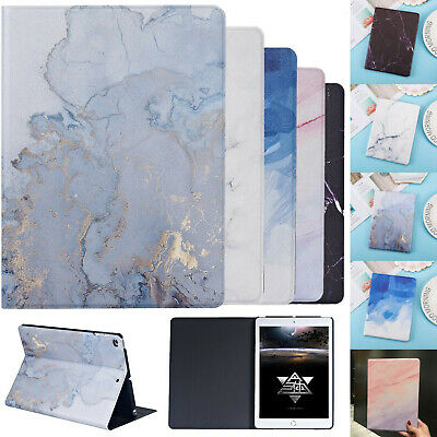 Color Marble Smart Magnetic Stand Flip Case For IPad 10.2 9.7 Air 3rd Mini Cover • 8.99£