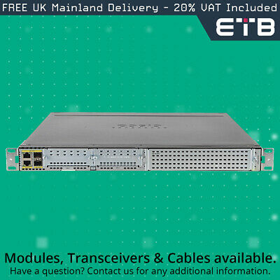 Cisco ISR4331/K9 Integrated Services Router - New • 780£