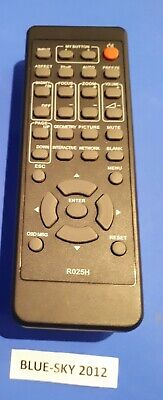 USED Hitachi And Dukane R025H Original Projector Remote Control / VARIOUS MODELS • 15£