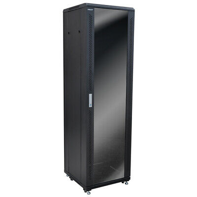 Eagle P703 42 Unit Network/Data Rack Cabinet Glass Door • 421£