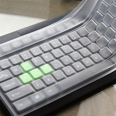 Universal Silicone Desktop Computer Keyboard Cover Skin Protector Film Cover • 2.51£